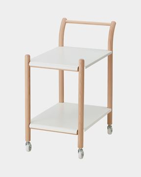 Picture of Side Table on Casters