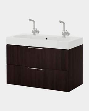 Picture of 2 Sink Bathroom Cabinet